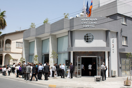 The Armenian Cultural Centre in Larnaca